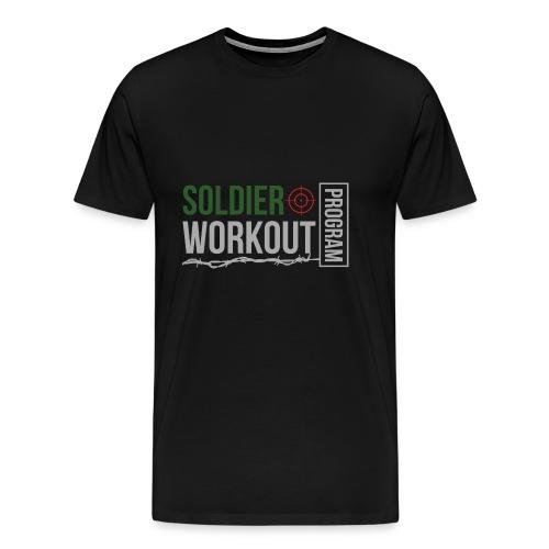 Soldier Workout Program - Premium-T-shirt herr