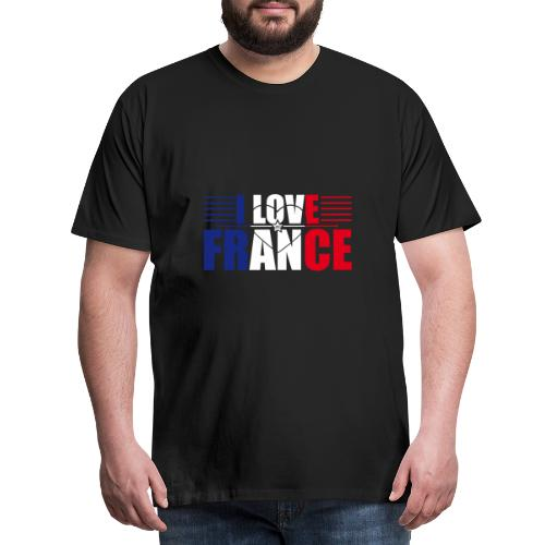 love france - T-shirt Premium Homme