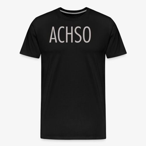 leipglo shop favorite german words series ACHSO - Männer Premium T-Shirt