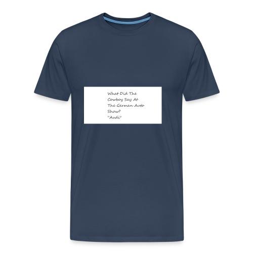 Car Joke - Men's Premium T-Shirt