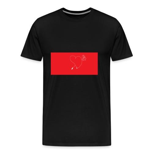 vad aer det faer form - Premium-T-shirt herr