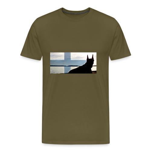 HUPPARITAUSTA2016 copy - Miesten premium t-paita