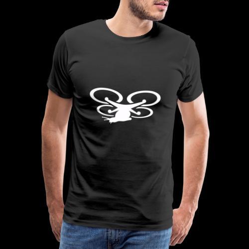 Einseitig bedruckt - Männer Premium T-Shirt