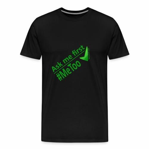 askmefirst logo - Men's Premium T-Shirt