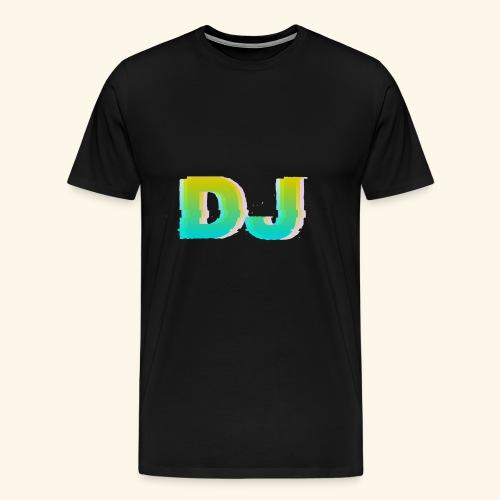 Dj - Koszulka męska Premium