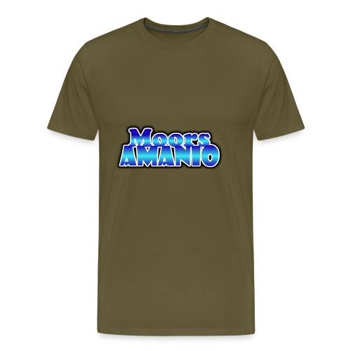 MoorsAmanioLogo - Mannen Premium T-shirt