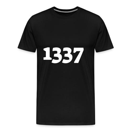 1337 - Herre premium T-shirt