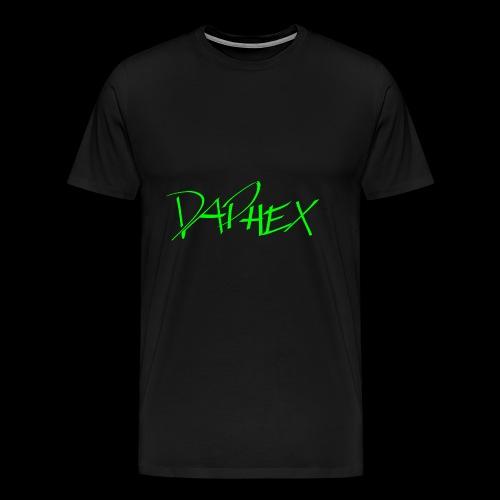 DAPHEX neongreen - Männer Premium T-Shirt