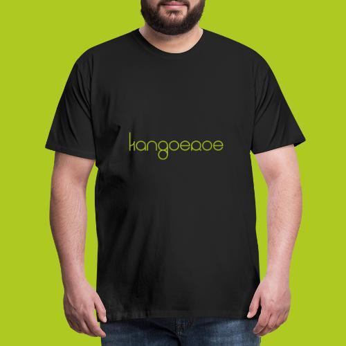 Green Kangoeroe design - T-shirt Premium Homme