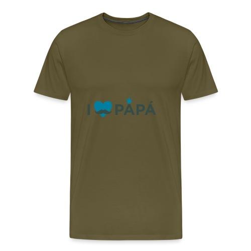 ik hoe van je papa - T-shirt Premium Homme