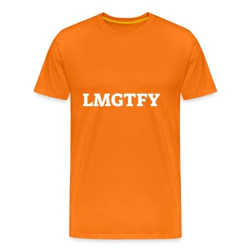 LMGTFY - Herre premium T-shirt