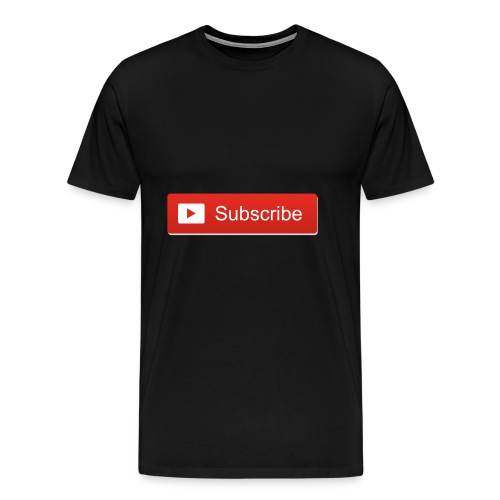 FUNNY ALWAYS BE SUBSCRIBED ALL MERCH - Men's Premium T-Shirt
