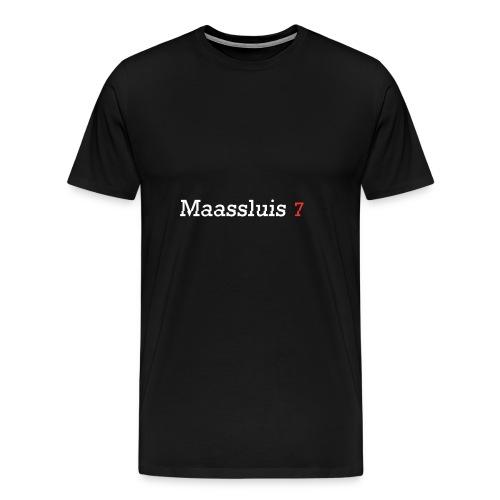 Maassluis 7Seven - White Edition - Mannen Premium T-shirt