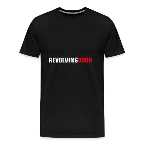 RD Logo weiss rot CMYK1 - Männer Premium T-Shirt