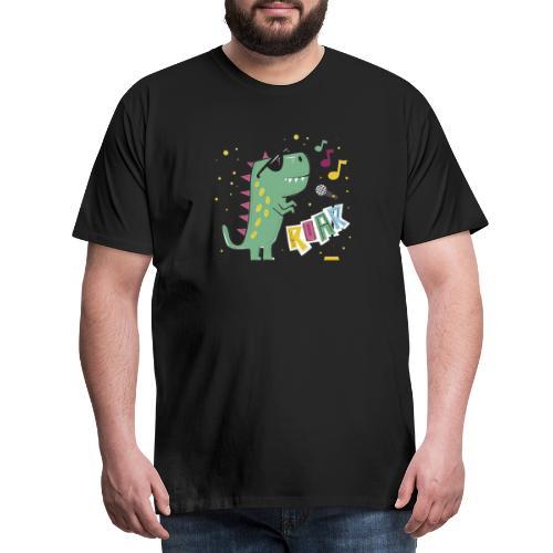 DINO MUSIC 1 - Camiseta premium hombre