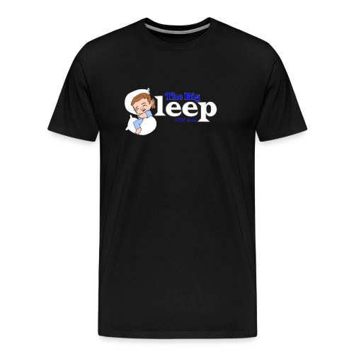 The Big Sleep for ME Blue - Men's Premium T-Shirt