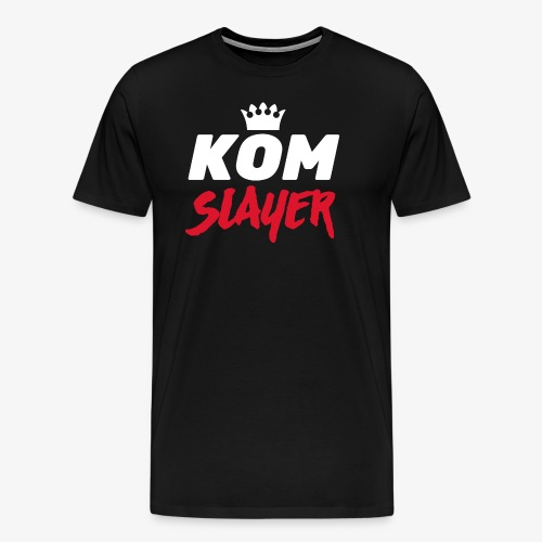 king of the mountain slayer - mtb - Men's Premium T-Shirt