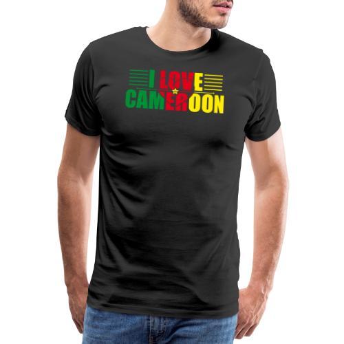 love cameroun - T-shirt Premium Homme