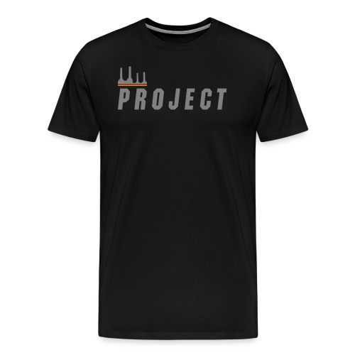 The Project, silver - Men's Premium T-Shirt