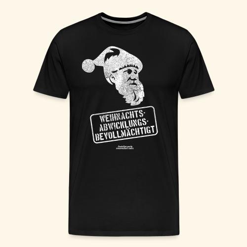Ugly Christmas Design für Weihnachten - Männer Premium T-Shirt
