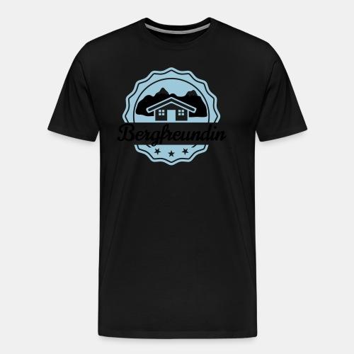 Bergfreundin - Männer Premium T-Shirt