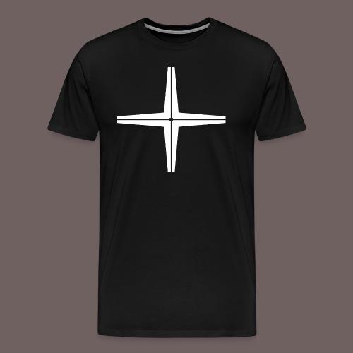 GBIGBO zjebeezjeboo - Rocher - Place au milieu - T-shirt Premium Homme