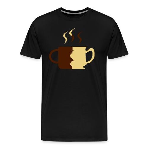CoffeeTeaLog - Männer Premium T-Shirt