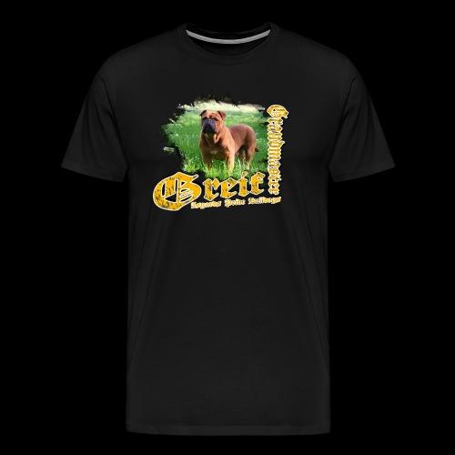 Grandmaster Greif Weiß - Männer Premium T-Shirt