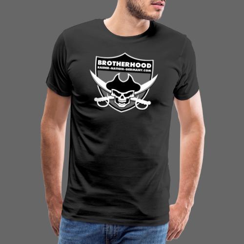 RAIDER NATION GERMANY - Männer Premium T-Shirt