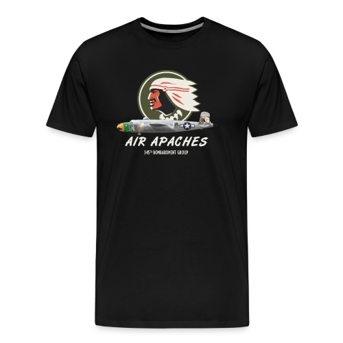 Air Apaches 345th Bomb Group - Men's Premium T-Shirt
