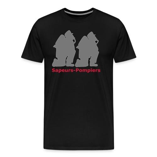 Sapeurs-pompiers - T-shirt Premium Homme