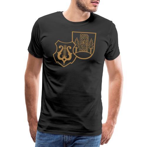 MVW Welden Logo Schwarz gross - Männer Premium T-Shirt