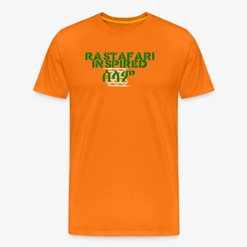 Inspired Rastafari - Men's Premium T-Shirt