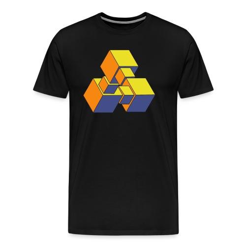 Tribar 009 - Männer Premium T-Shirt