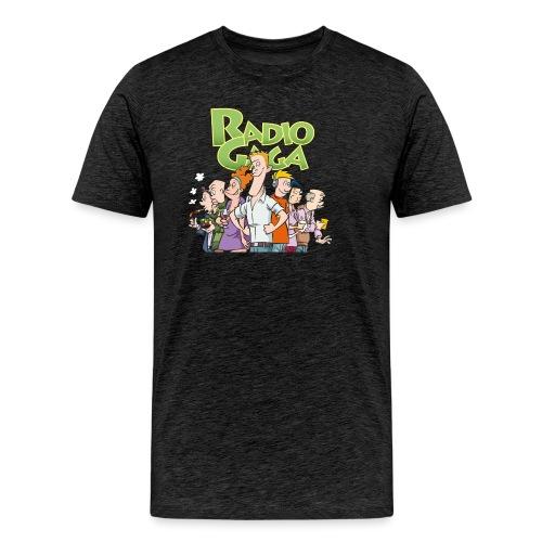 Radio Gaga-redaksjonen - Premium T-skjorte for menn