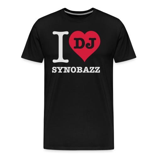 i love synobazz - Männer Premium T-Shirt