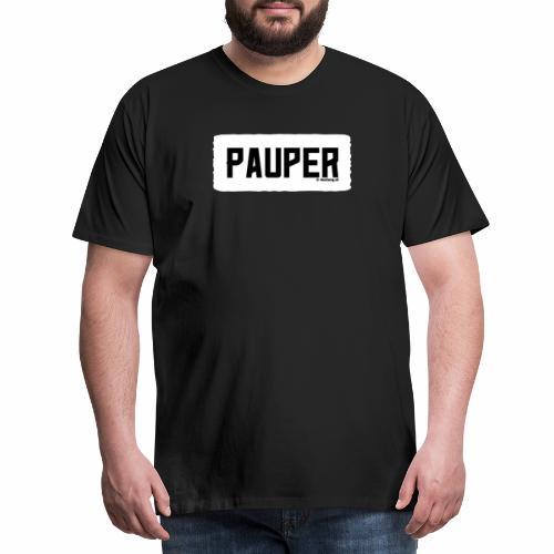 Pauper - Mannen Premium T-shirt