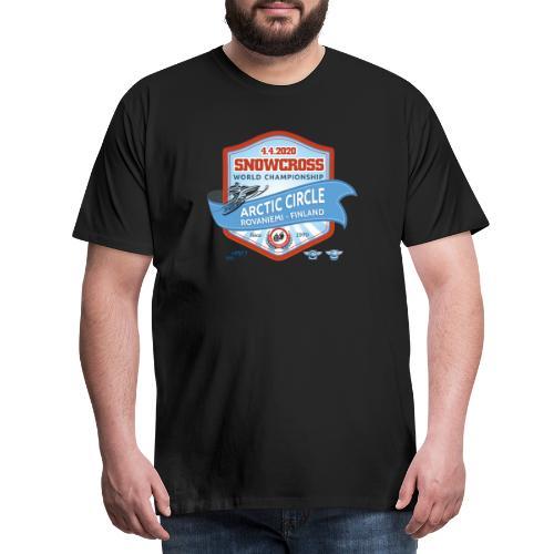 MM Snowcross 2020 virallinen fanituote - Miesten premium t-paita