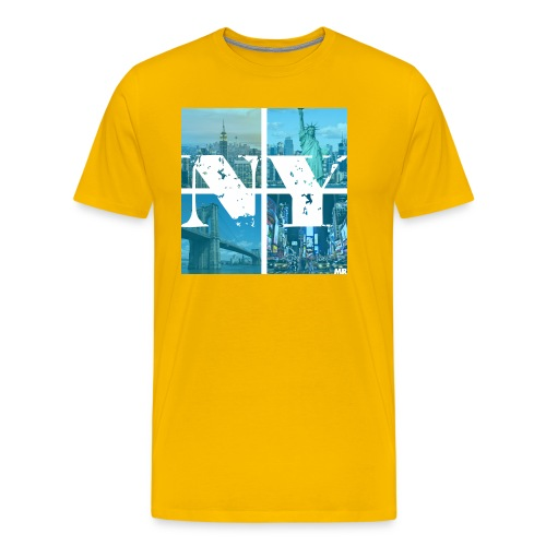 NEW YORK BLUE - Männer Premium T-Shirt