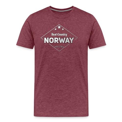 NORWAY - Men's Premium T-Shirt