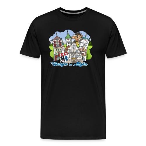 Wangen im Allgäu - Männer Premium T-Shirt