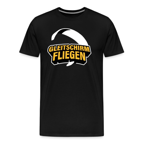 Gleitschirmfliegen Paragleiten - Männer Premium T-Shirt
