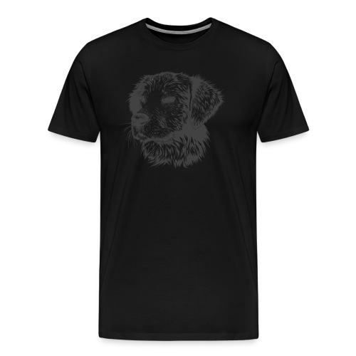 Hund Golen retriever - Männer Premium T-Shirt