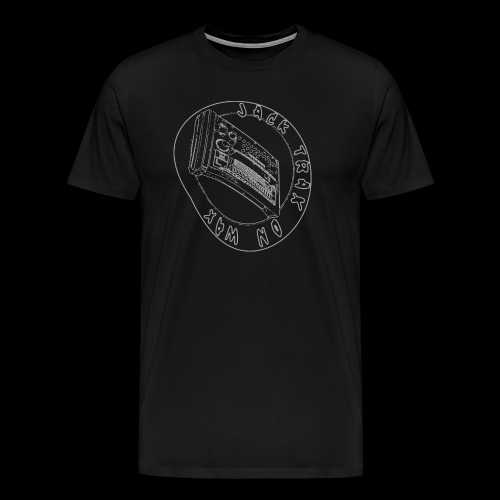 Jack Trax on Wax GREY - Men's Premium T-Shirt