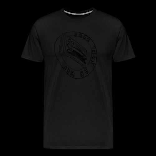 Jack Trax on Wax BLACK - Men's Premium T-Shirt