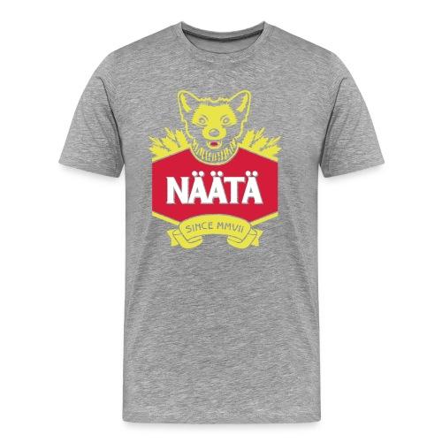 Näätä - Miesten premium t-paita