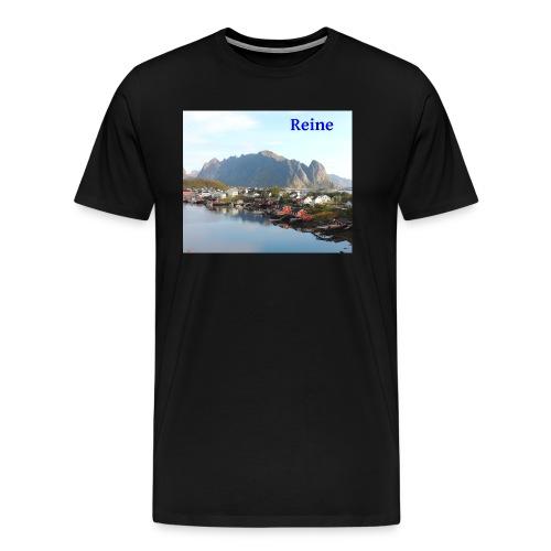 Reine i Lofoten - Premium T-skjorte for menn