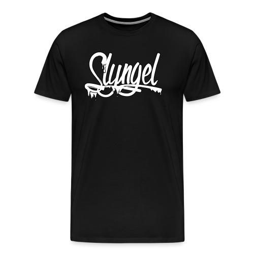 Slyngel Slime White - Premium T-skjorte for menn