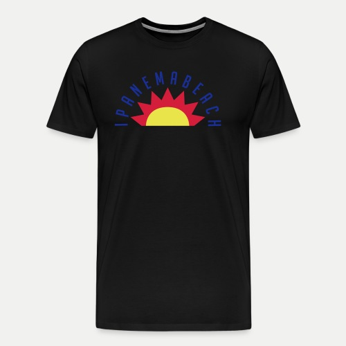 Ipanema Beach - Men's Premium T-Shirt