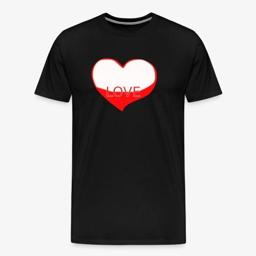 Love1 - Camiseta premium hombre